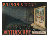 Edison's Greatest Marvel: The Vitascope, c.1896 Giclee Print