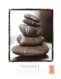 Balance: Rocks Poster