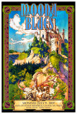 Moody Blues in Concert Posters af Bob Masse
