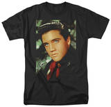 Elvis - Red Scarf Shirt