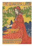 The Quartier Latin Prints by Louis Rhead