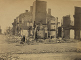 Ruins in Richmond, Virginia, c.1865 Posters af Andrew J. Johnson