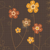 Earth Blooms II Prints by Emily Burrowes