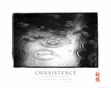 Consistency: Raindrops Prints