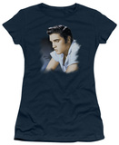Juniors: Elvis - Blue Profile T-shirts