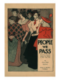 People We Pass, Stories of Life among the Masses of New York City Prints by Edward Penfield
