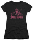 Juniors: Elvis - The King T-Shirt
