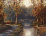 Path to Stone Bridge Art by T. C. Chiu