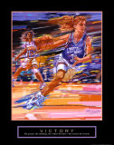 Victory: Basketball Poster by Bill Hall