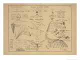 21 Figures about Aeronautics: Mechanics of Insect Flight and More Prints by Ferdinand Tollin