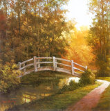T. C. Chiu - Wooden Bridge Obrazy