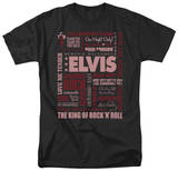 Elvis - Whole Lotta' Type T-shirts