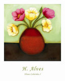 Flores Coloridas I Posters by H. Alves