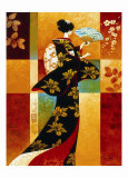 Sakura Posters by Keith Mallett