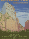 Zion National Park, c.1938 Prints