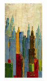 Towerscape II Print by Jason Cardenas