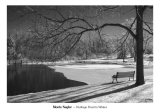 Heritage Pond in Winter Posters by Monte Nagler