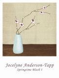 Springtime Blush I Posters by Jocelyne Anderson-Tapp
