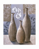Silver Orchids II Posters by Keith Mallett