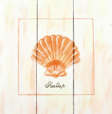 Scallop Wood Sign
