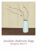 Springtime Blush II Art by Jocelyne Anderson-Tapp
