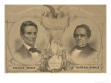Abraham Lincoln for President - The Union Must and Shall be Preserved, c.1860 Prints by W.h. Rease