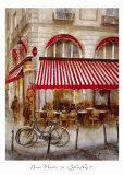Cafe de Paris II Posters by Noemi Martin