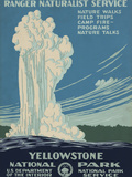 Yellowstone National Park, c.1938 Poster