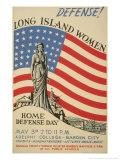 Defense! Long Island Women, c.1941 Art