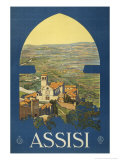 Assisi, c.1920 Prints by Vittorio Grassi