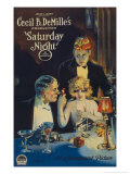 Cecille B. Demille's Saturday Night, c.1922 Giclee Print
