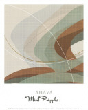 Mint Ripple I Posters by Ahava