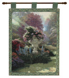 The Garden of Hope Wall Tapestry by Thomas Kinkade