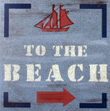 Back to the Beach Wood Sign