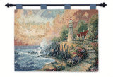 The Light of Peace Wall Tapestry by Thomas Kinkade