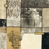 Classical Ruins II Posters by Connie Tunick