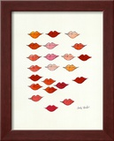 Lips Print by Andy Warhol