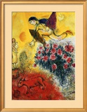 L'Envol Art by Marc Chagall
