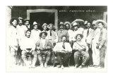 Pancho Villa and Gang, Mexico, Art Print