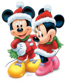 Mickey & Minnie Mouse Cardboard Cutouts