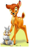 Bambi and Thumper Stand Up