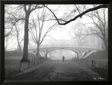 Gothic Bridge, Central Park, New York City Posters by Henri Silberman