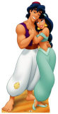 Aladdin and Jasmine Stand Up