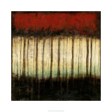Autumnal Abstract II Limited Edition by Jennifer Goldberger