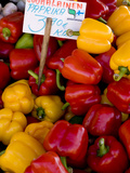 Produce at an Outdoor Market, Helsinki, Finland Photographic Print by Nancy & Steve Ross
