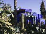 Walter Bibikow - Villa Exterior, Jardin Majorelle and Museum of Islamic Art, Marrakech, Morocco Fotografická reprodukce