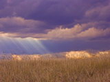 Sun Rays in the Afternoon Storm Clouds, Maasai Mara, Kenya Photographic Print by Joe Restuccia III