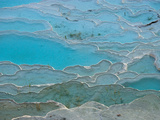 Geological Formations of the Hot Springs, Pammukkale, Turkey Photographic Print by Darrell Gulin