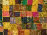 Colorful Carpet, Pushkar, Rajasthan, India Photographic Print by Keren Su