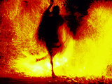Fire Dancing, Bali, Indonesia Photographic Print by Jay Sturdevant